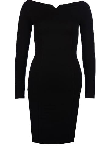 NA-KD Kleid in Schwarz