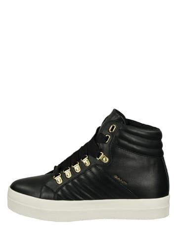 """GANT Footwear Leren sneakers """"Avona"""" zwart"""