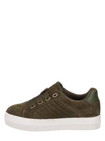 "GANT Footwear Leren sneakers ""Avona"" bruin"