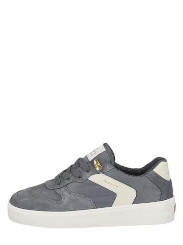 "GANT Footwear Leren sneakers ""Lagalilly"" grijs"