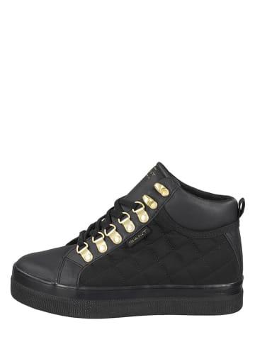 "GANT Footwear Leren sneakers ""Leisha"" zwart"