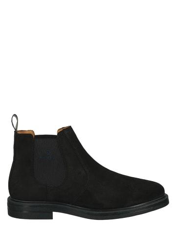 "GANT Footwear Leren chelseaboots ""Kyree"" bruin"