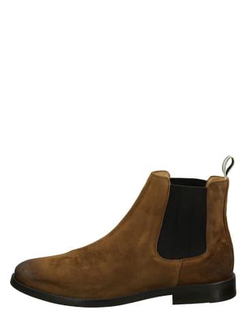 """GANT Footwear Skórzane sztyblety """"Sharpville"""" w kolorze jasnobrązowym"""