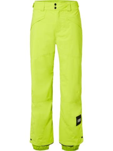 """O'Neill Spodnie narciarskie """"Hammer"""" w kolorze żółtym"""