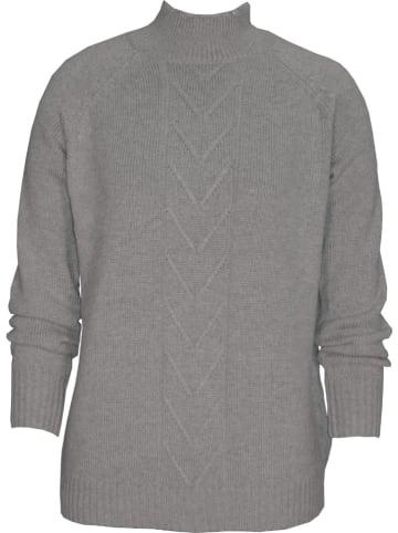 Malvin Sweter w kolorze szarym