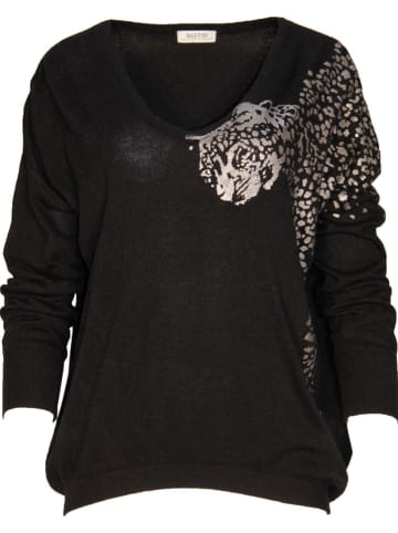 Malvin Sweter w kolorze czarnym