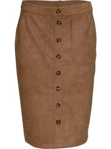 Malvin Spódnica w kolorze karmelowym