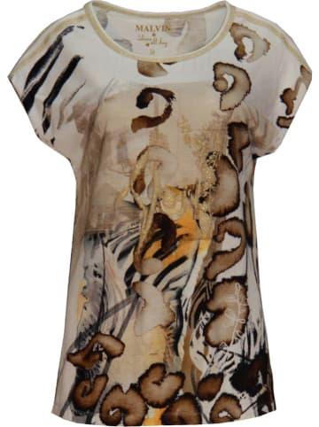 Malvin Shirt beige/zwart