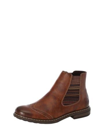 Rieker Leren boots bruin