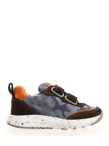 """Naturino Sneakers """"Delt"""" grijs"""