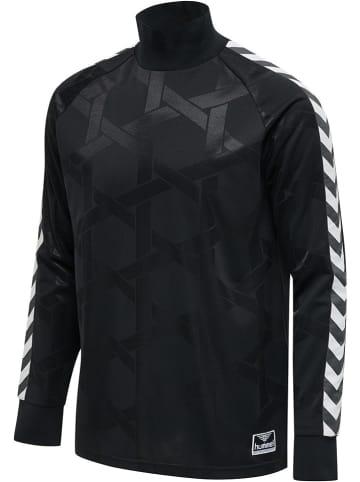 "Hummel Koszulka ""Carsten"" w kolorze czarnym"