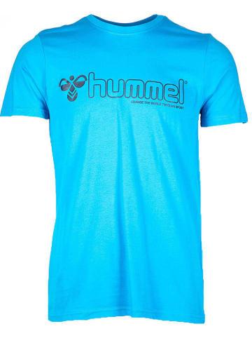 Hummel Shirt in Türkis