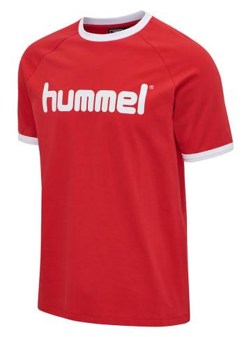 """Hummel Koszulka """"Bay"""" w kolorze czerwonym"""