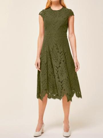 IVY & OAK Sukienka w kolorze zielonym