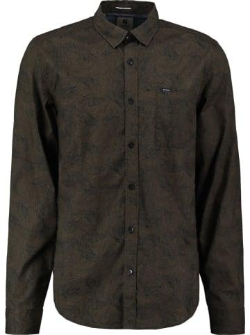 Garcia Koszula - Regular fit - w kolorze ciemnobrązowym