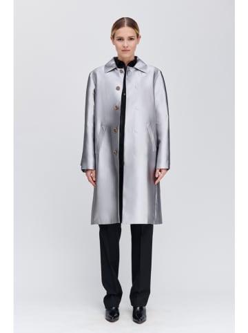 Strenesse Mantel zilverkleurig