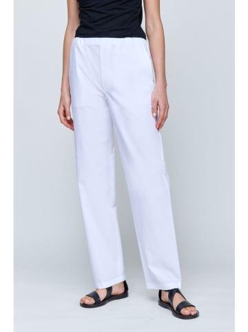 Strenesse Spodnie w kolorze białym