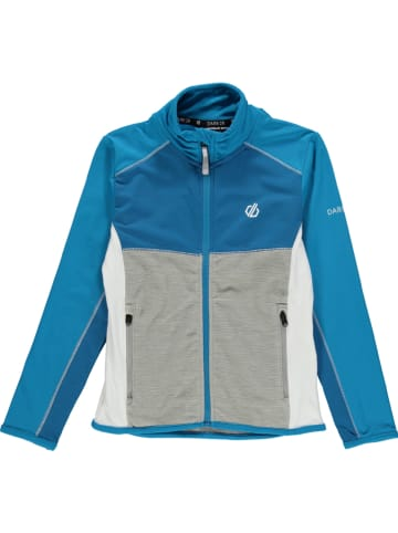 """Dare 2b Fleece vest """"Except"""" grijs/blauw"""