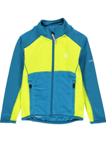 "Dare 2b Fleece vest ""Except Core"" blauw/neongeel"