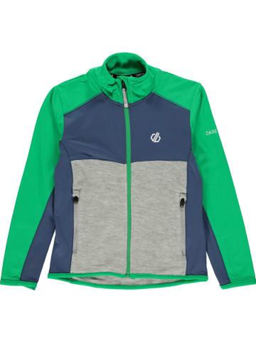 """Dare 2b Fleece vest """"Except"""" grijs/blauw/groen"""