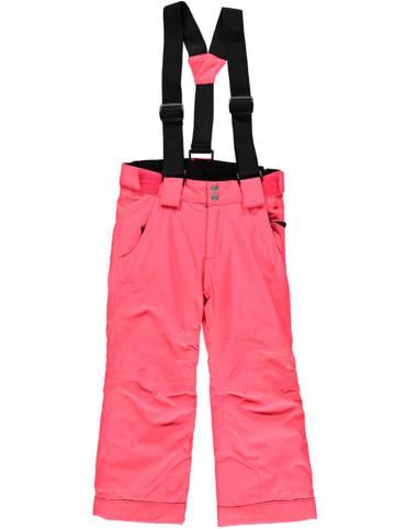 """Dare 2b Spodnie narciarskie """"Motive"""" w kolorze jaskraworóżowym"""