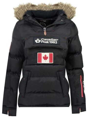 "Canadian Peak Winterjas ""Bettycheak"" zwart"