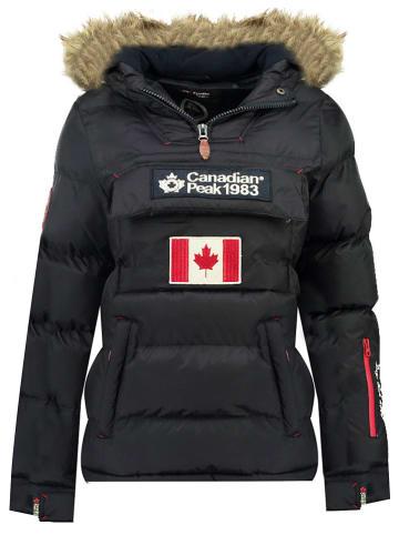 """Canadian Peak Kurtka zimowa """"Bettycheak"""" w kolorze granatowym"""