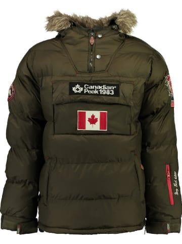 "Canadian Peak Winterjas ""Borneak"" groen"