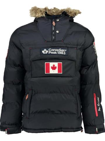 "Canadian Peak Winterjacke ""Borneak"" in Dunkelblau"