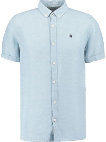 Garcia Koszula w kolorze błękitnym