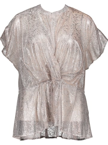 Replay Bluse in Rosé/ Silber