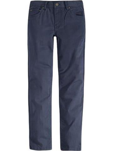 Levi's Kids Spodnie - Regular fit - w kolorze granatowym