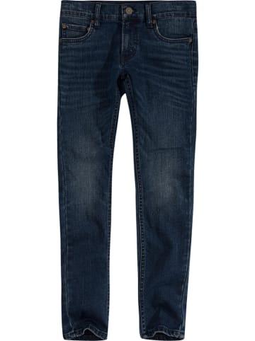 Levi's Kids Spijkerbroek - skinny fit - donkerblauw