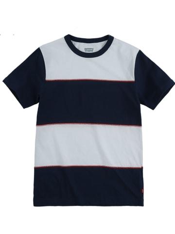 Levi's Kids Koszulka w kolorze czarno-białym