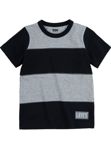 Levi's Kids Shirt in Schwarz/ Grau