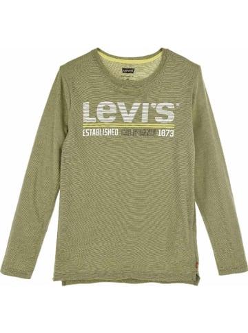 Levi's Kids Longsleeve in Khaki