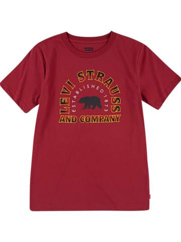 Levi's Kids Shirt bordeaux