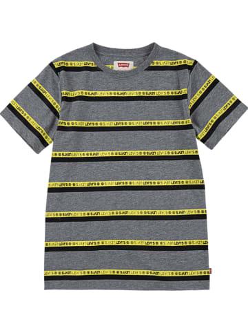 Levi's Kids Shirt grijs/geel