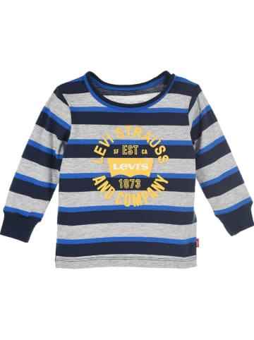 Levi's Kids Koszulka w kolorze granatowo-szarym