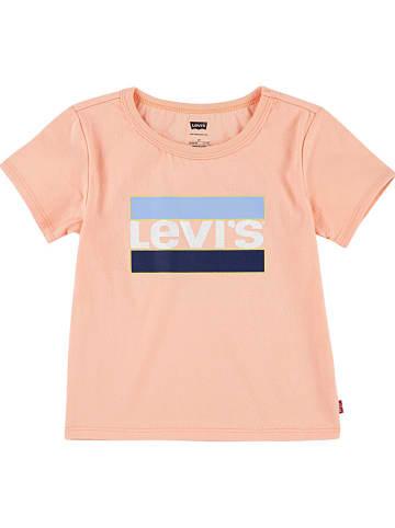 Levi's Kids Shirt abrikooskleurig