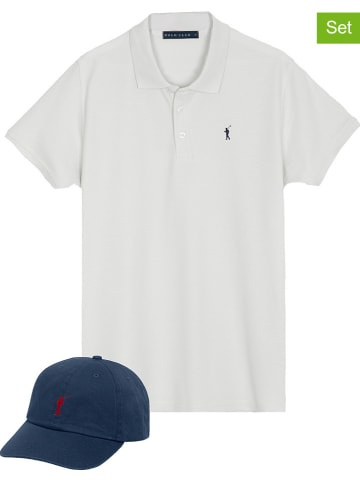 Polo Club 2-delige outfit donkerblauw/wit