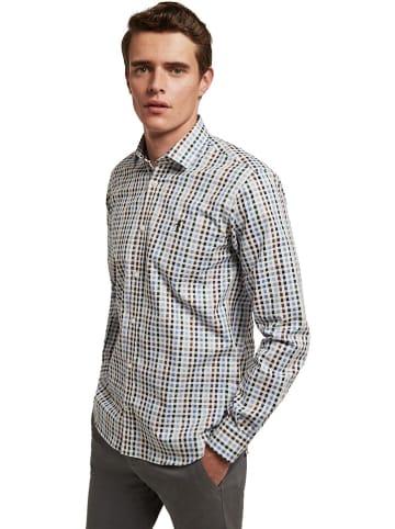Polo Club Hemd in Weiß/ Bunt