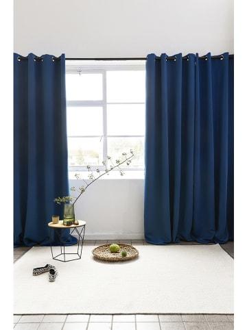 Lifa Living Ringgordijn blauw