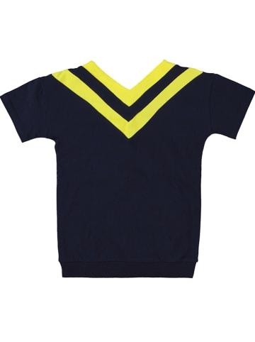 """Tom-Du Koszulka """"Carmel"""" w kolorze żółto-czarnym"""