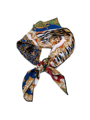 Made in Silk Zijden sjaal meerkleurig - (L)90 x (B)90 cm