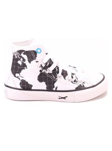 "Converse Sneakers ""Ctas"" wit/zwart"