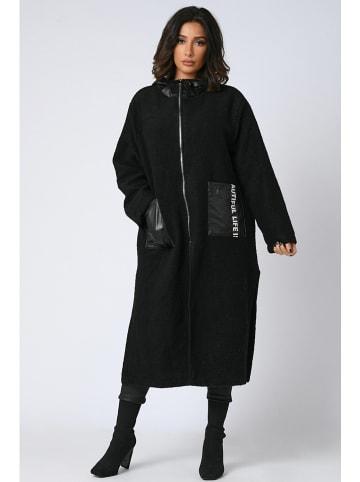 """Plus Size Company Płaszcz przejściowy """"Amir"""" w kolorze czarnym"""