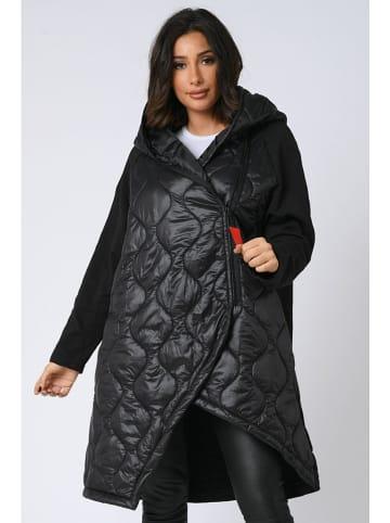 """Plus Size Fashion Płaszcz """"Robin"""" w kolorze czarnym"""
