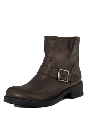 Cold Out Leder-Boots in Braun