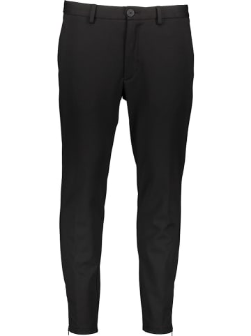 Marc O'Polo DENIM Spodnie - Slim fit - w kolorze czarnym